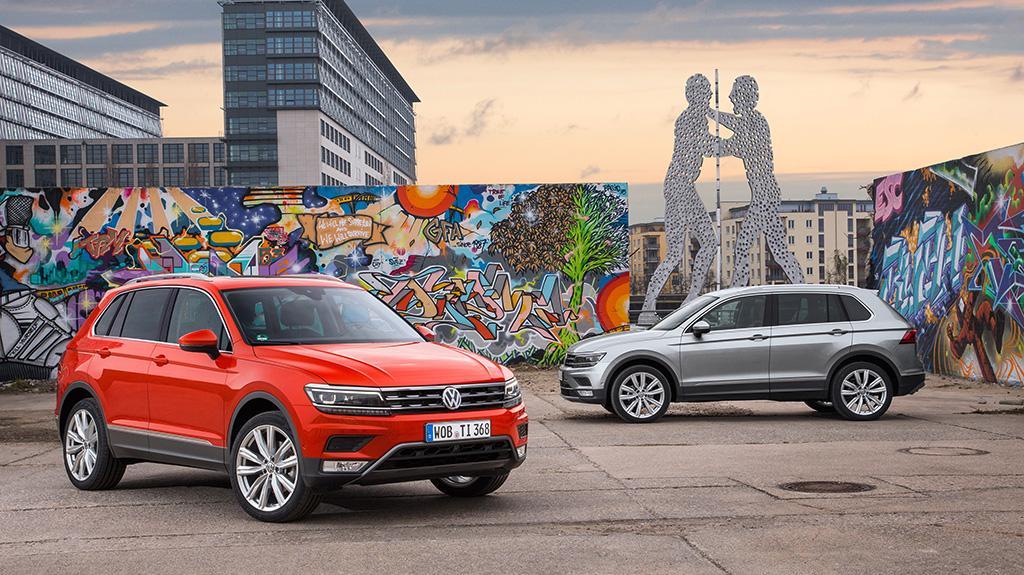 Volkswagen 品牌於 2017 年上半年的全球交車量較去年同期微升