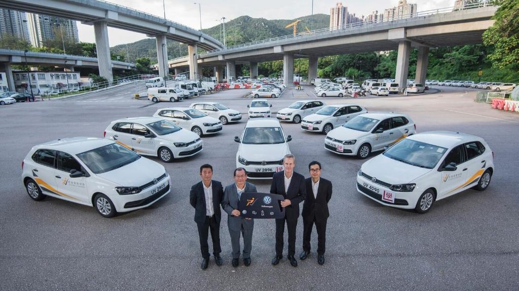 Volkswagen Polo 180 TSI 棍波版加入香港駕駛學院訓練車隊