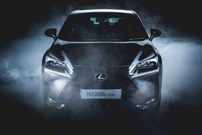 Lexus 本週末 NX KAKO BLACK EDITION 矚目首展