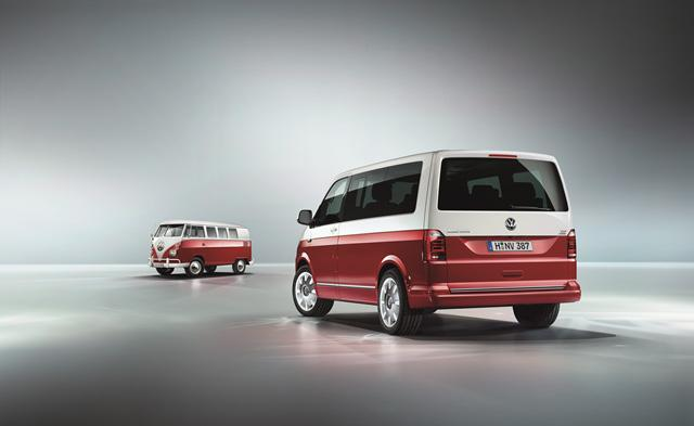 Volkswagen T6 Transporter Bulli Edition 70 周年限量特別版現正接受預訂