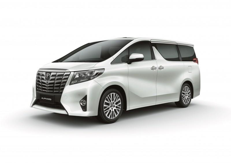 Toyota 灣仔陳列室獨家呈獻 Luxury MPV Show