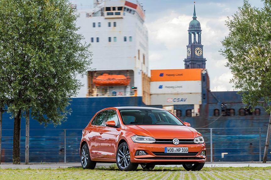 Volkswagen Polo 於 Euro NCAP 撞擊測試中榮獲五星最高安全級別