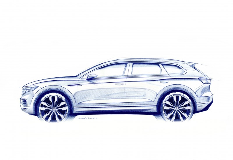 全新 Volkswagen Touareg 引領未來