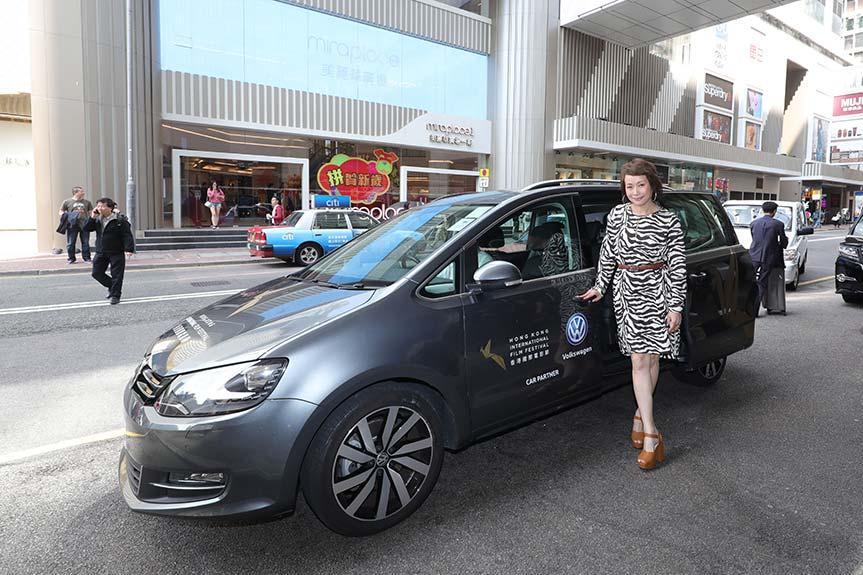 Volkswagen 再次成爲今年「香港國際電影節」大會用車