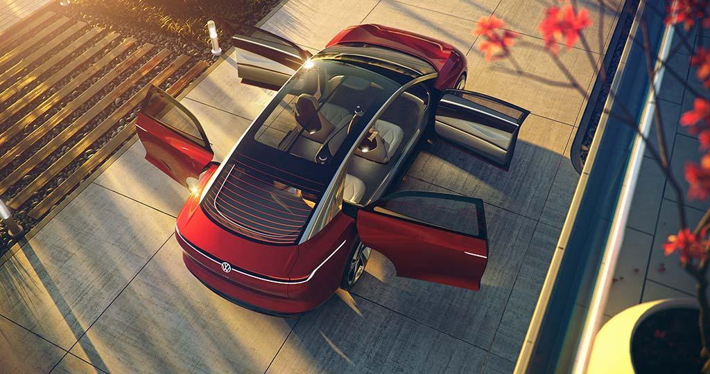 Volkswagen 於日内瓦國際車展發佈未來全電動房車 I.D. VIZZION