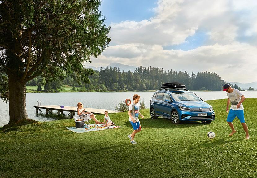 Volkswagen Touran 慶祝面世十五周年