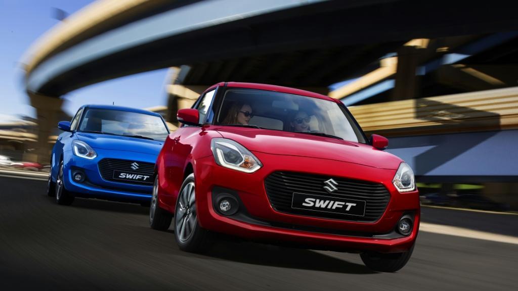 全新 Suzuki Swift 本週末旋風登陸元朗車展