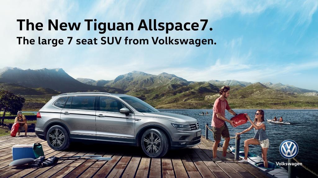 全新 Tiguan Allspace7 將於本周末又一城車展首度亮相