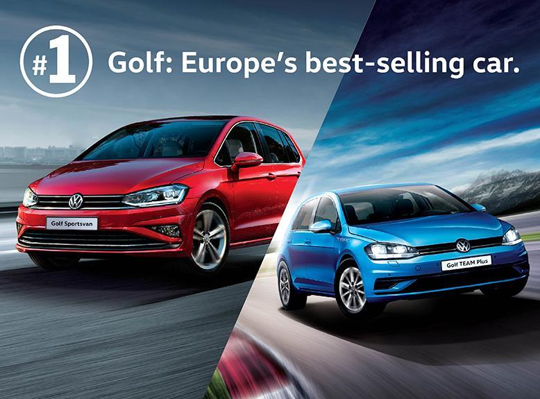 歐洲最暢銷車系 Golf 傲領同儕  指定 Golf 型號現只需 $3,888 升級真皮座椅