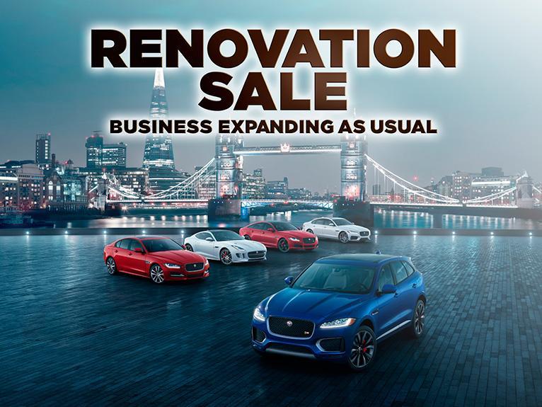 Jaguar Land Rover – Renovation Sale 第一擊