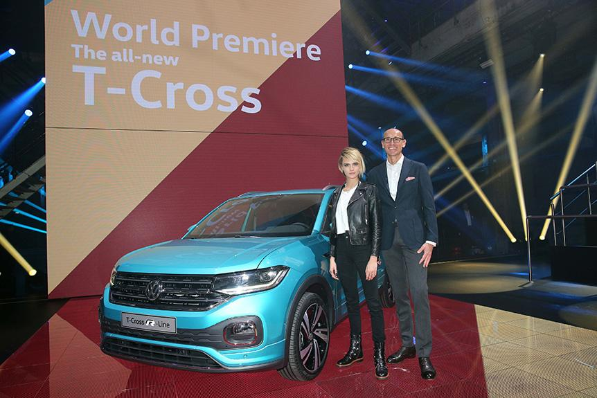 全新 Volkswagen T-Cross 全球首度發佈