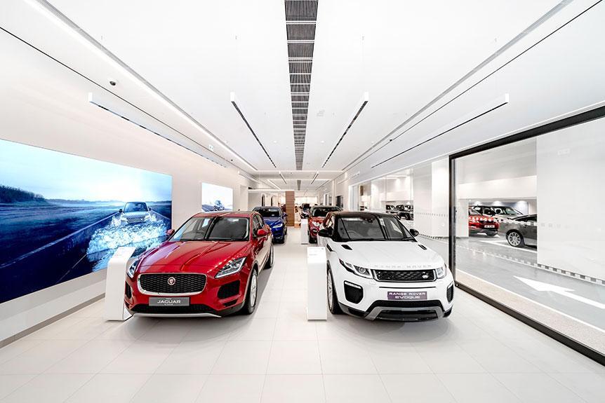 Jaguar Land Rover 全港首個旗艦品牌體驗中心正式開幕