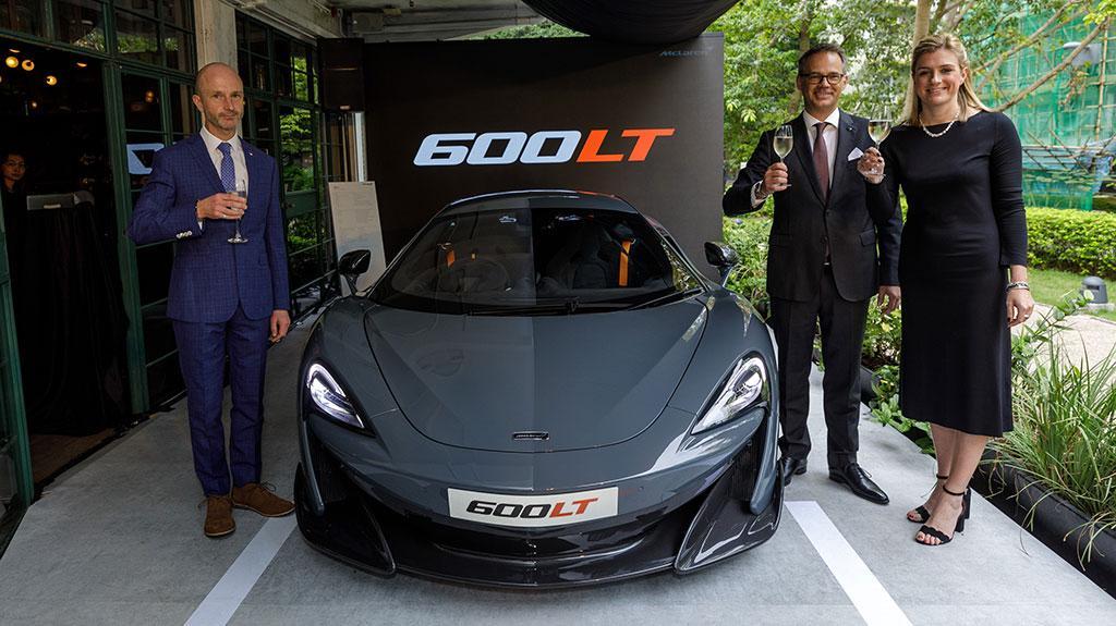 McLaren 於香港隆重推出全新型號 600LT