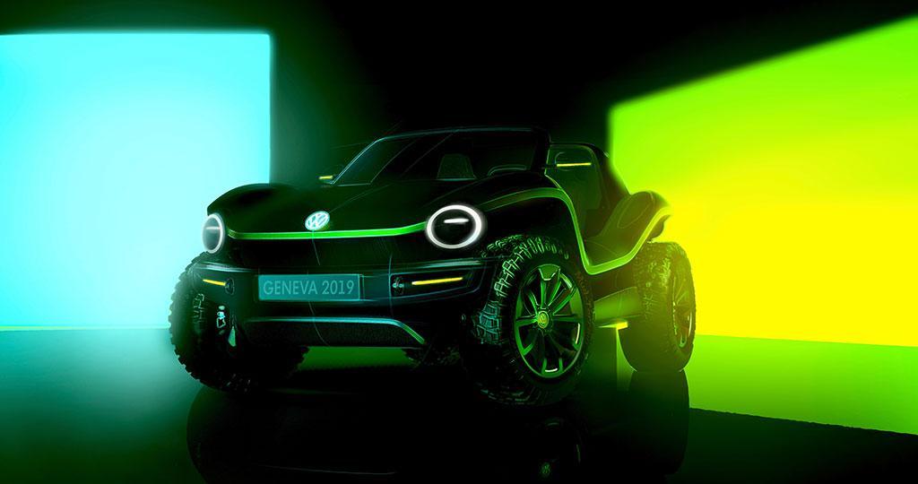 Volkswagen 發佈全新 Buggy 電動越野車