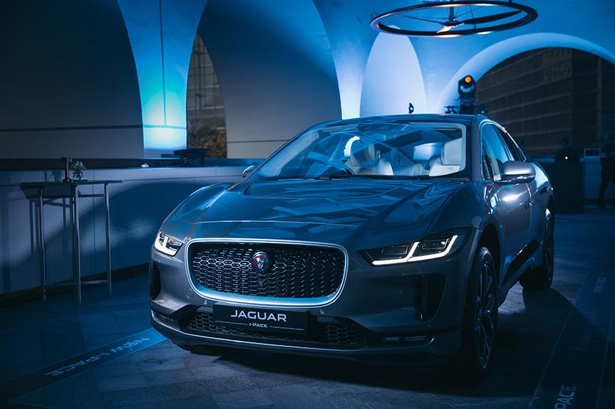 全新 Jaguar I-PACE 純電動 SUV  跑車性能引領未來