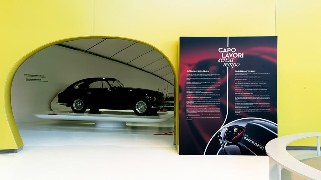 一場名為「不朽傑作」的展覽會在恩佐·法拉利博物舉行