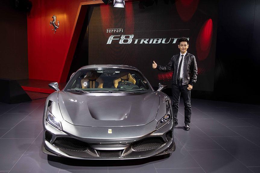 法拉利限時概念店登陸上海  F8 Tributo 致敬傳奇