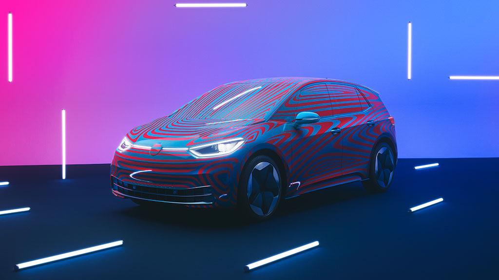 電能時代即將降臨 Volkswagen 首款電動車 ID.3 首日收獲過萬訂單