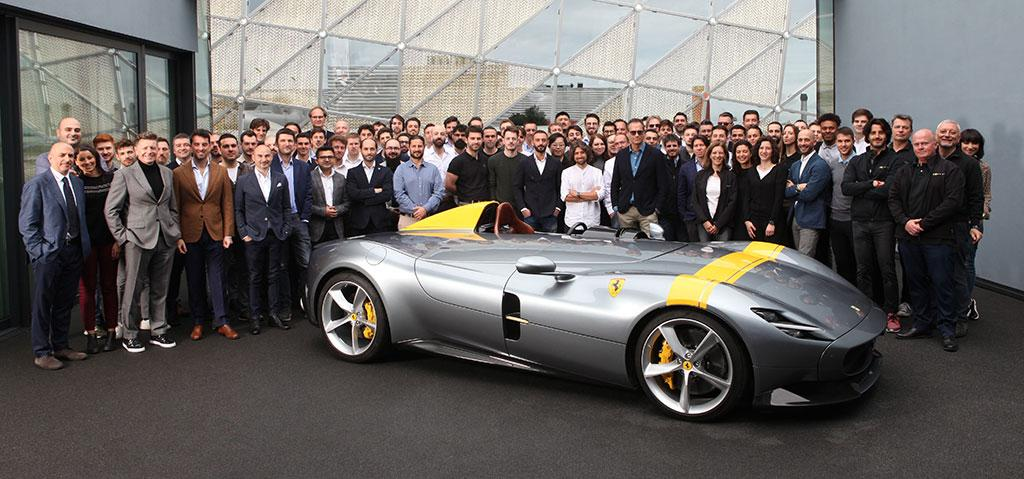 法拉利 Monza SP1 榮膺紅點獎最高榮譽,五年內共獲 14 項紅點大獎