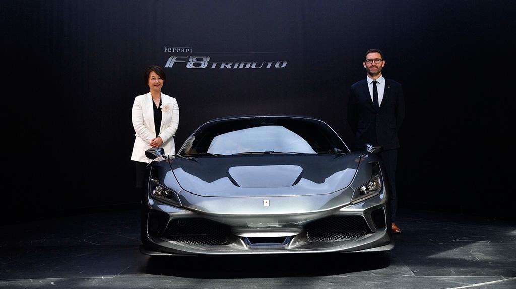 法拉利史上最強 V8 引擎型號: 全新 F8 Tributo 超級跑車