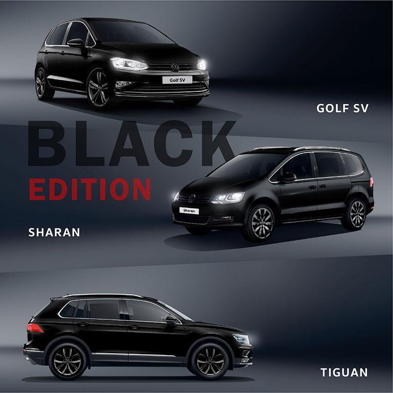 Volkswagen 誠意推出限量 BLACK EDITION