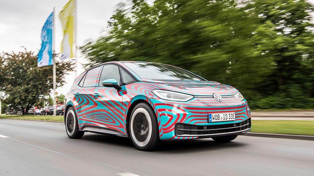 Volkswagen 全新 ID.3 電動車即將面世