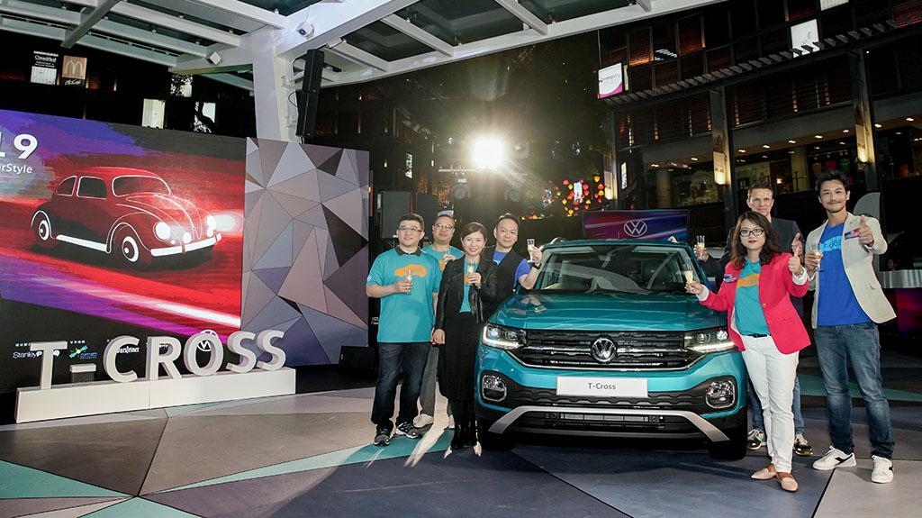 時尚達人栢天男現場見證 全新 SUV 車款 T-Cross 登陸香港