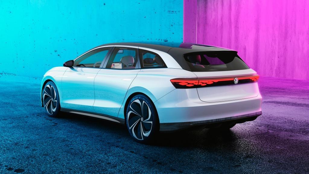 Volkswagen 全新 ID. SPACE VIZZION 概念電動車