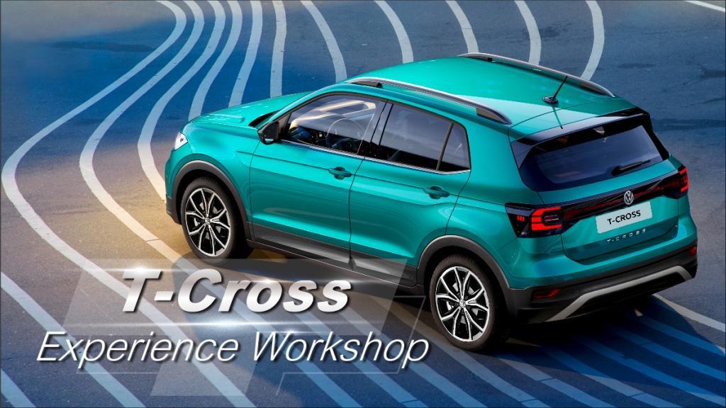 本周六 Volkswagen 九龍灣陳列室 T-Cross Experience Workshop