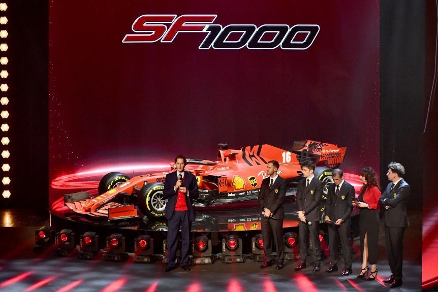 全新 SF1000 —— 向法拉利車隊第 1000 場 F1 大獎賽致敬