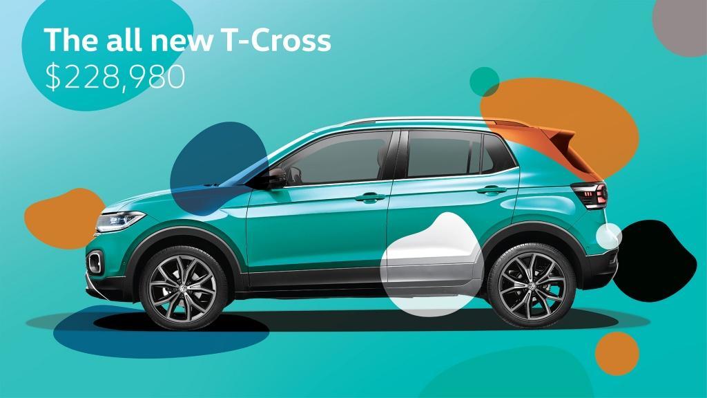 型格時尚 SUV T-Cross 震撼價 $228,980 更送升級限定禮遇