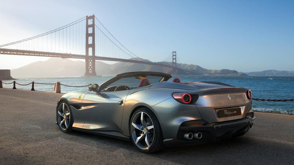 法拉利 Portofino M 以創新技術完美融合極致多功能性與開篷駕駛樂趣