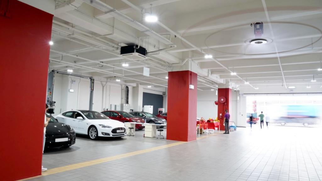 全新 Tesla 油塘服務中心正式投入服務  覆蓋九龍更多電動車主