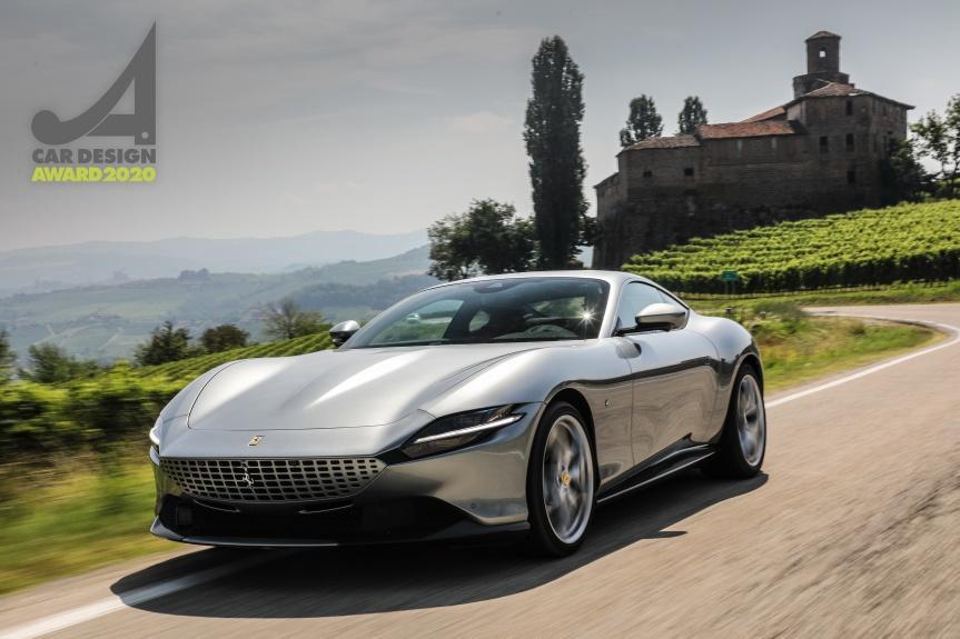法拉利 Roma 贏得「2020 汽車設計大獎」