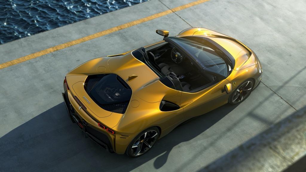 法拉利 SF90 Spider 以網上形式發布亮相