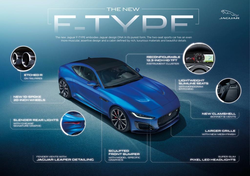 全新 Jaguar F-TYPE 凌厲登場 感受最純粹駕馭樂趣