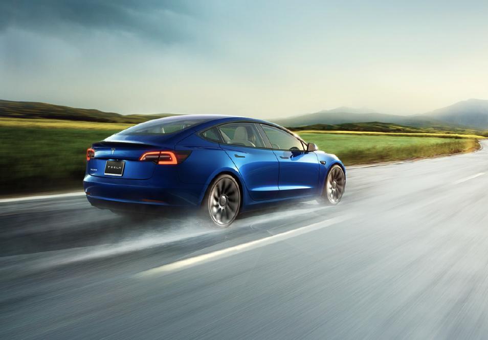 Tesla Model 3 香港價格調整 全新造型及車廂配飾設計