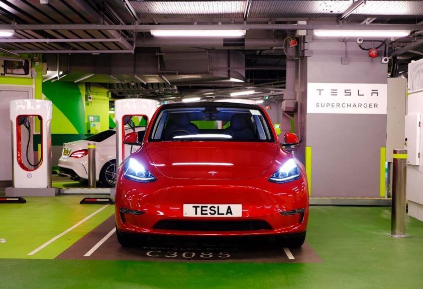 最新 V3 Supercharging 超級充電站正式於南昌及將軍澳正式啟用