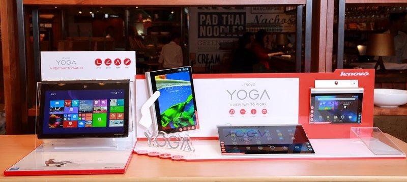 Lenovo 全新 YOGA 系列耀目登場