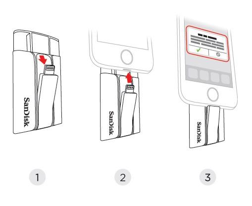 SanDisk 釋放流動裝置上的照片及影片儲存空間