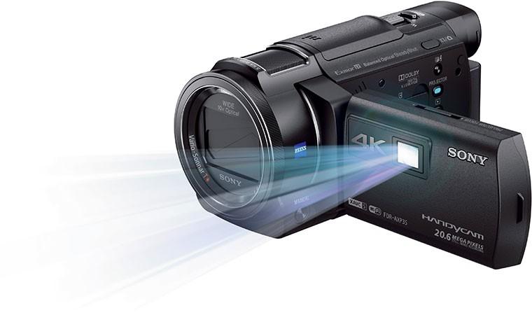 Sony 全新 4K Handycam® 攝錄機 FDR-AXP35 開始預售