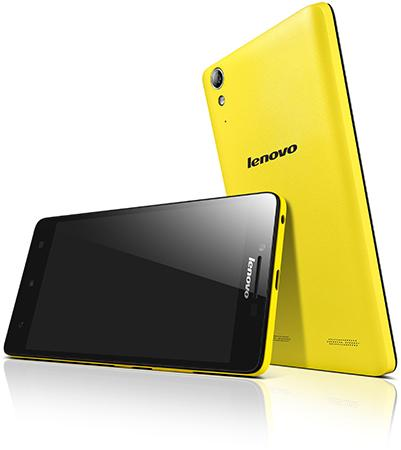 Lenovo 全新樂檬 A6000 智能手機登陸香港