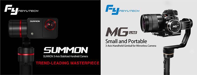 Feiyu Tech 飛宇科技 最新手持雲台穩定器 SUMMON / MG Lite