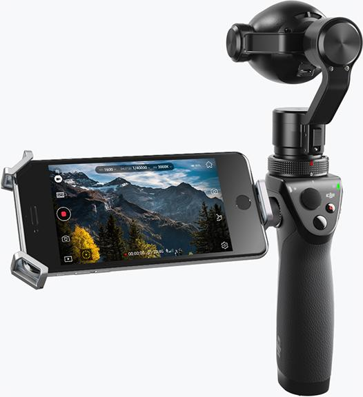 流暢影像 遠近自如 DJI 最新手持雲台相機 OSMO+