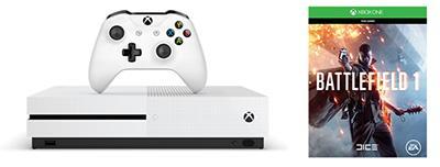 4K 新「細」代 Xbox One S 11.25 正式推出 連 Battlefield 1 或 FIFA17 只售 $2,680
