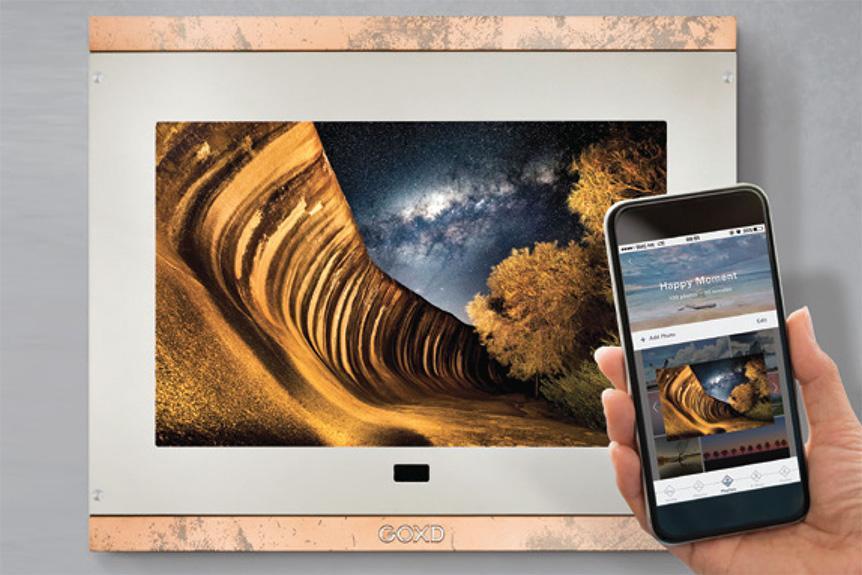 玩得起的 4K 超高清畫質 GOXD Memto™ 2D 智能相框正式上市