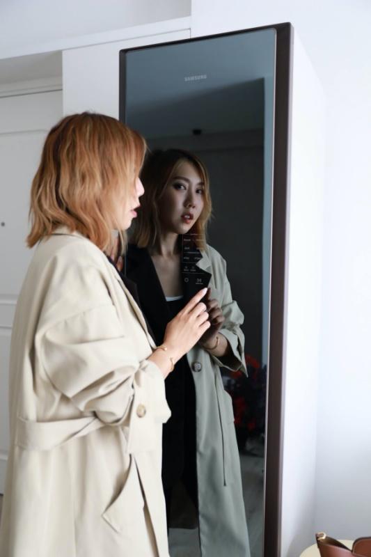 專業級錫衫法寶 - Samsung AirDresser™ 智能魔衣櫥