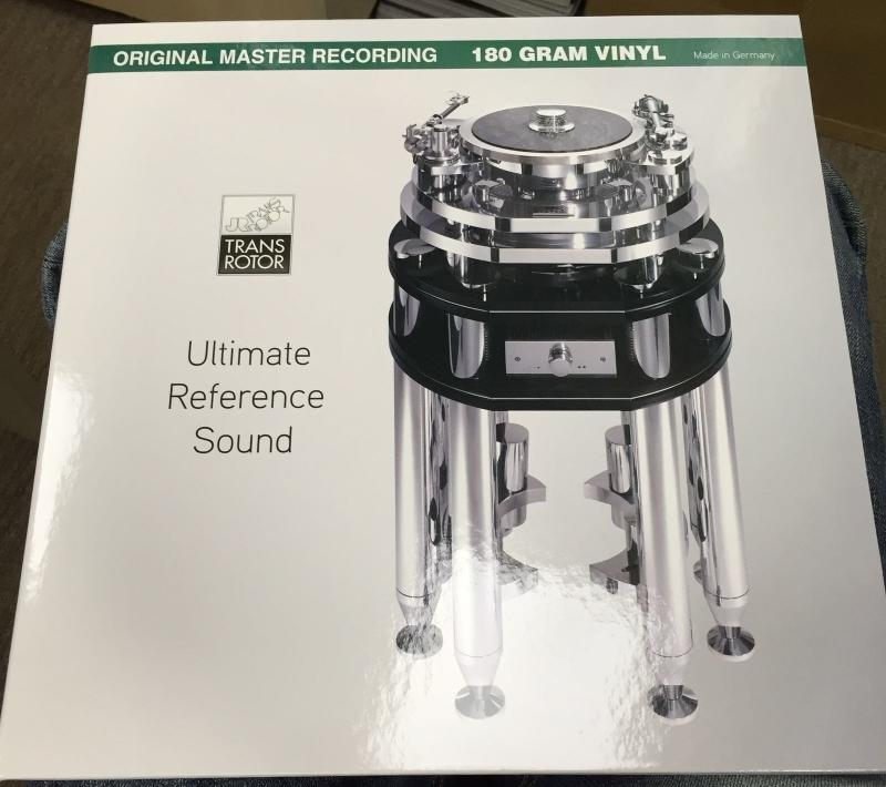 Stockfisch Records 推出 JR Transrotor <Ultimate Reference Sound> LP